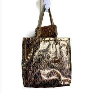 Michael Kors Rose Gold tote / purse & wallet